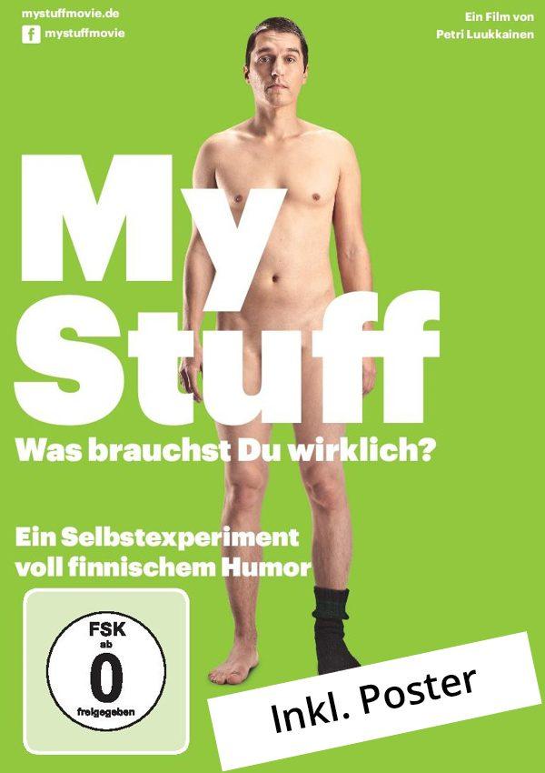 MYSTUFF kaufen! Plakat zum Minimalismus Dokumentarfilm