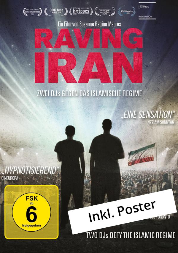 Plakat Raving Iran- zwei DJs gegen das islamische Regime jetzt online kaufen